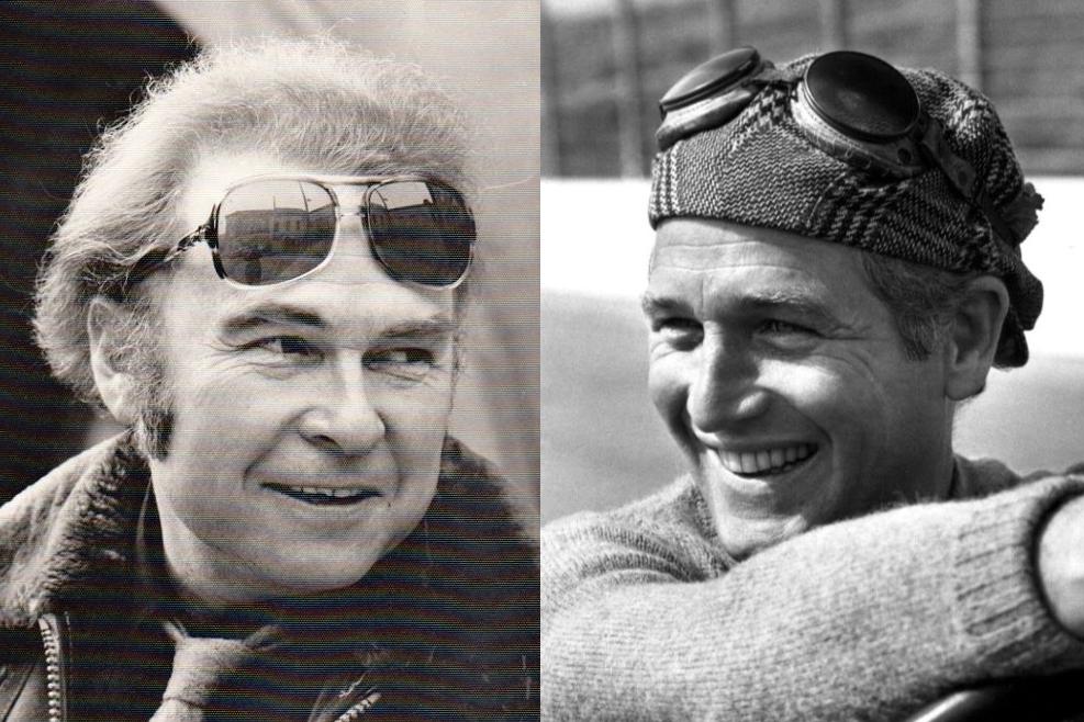 Luděk Munzar a Paul Newman. Oba propadli rychlých autům