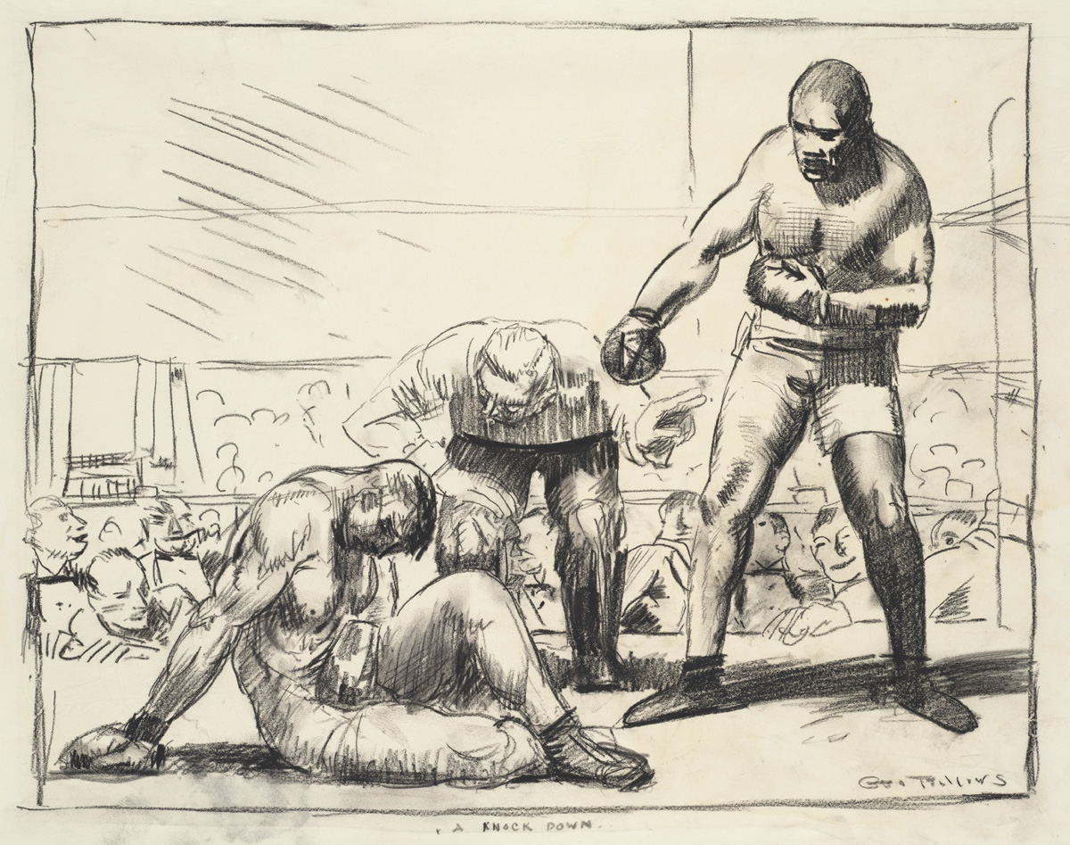 George Bellows (1882–1925): A Knock Down