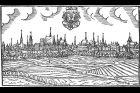Olomouc. Veduta z roku 1593 od Jana Willenberga.