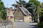 klasická anglická vesnice, anglický venkov