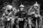 Bitva na Sommě, britští vojáci s teplými příděly