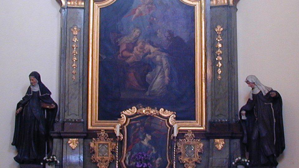 Postranní oltář