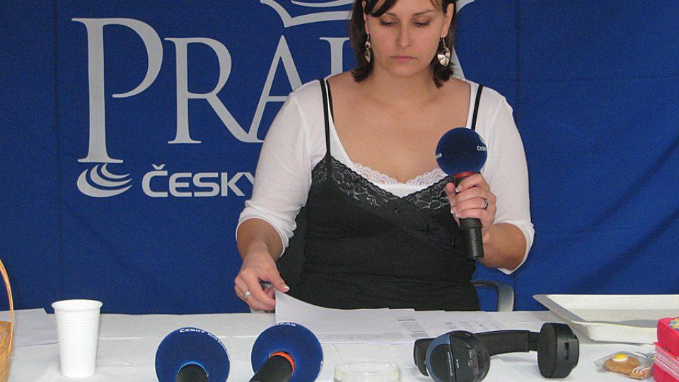 Adéla Culková z Redakce zpravodajství ČRo 2 - Praha