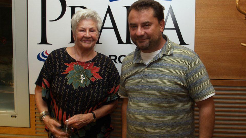 Kamila Moučková a Vladimír Kroc