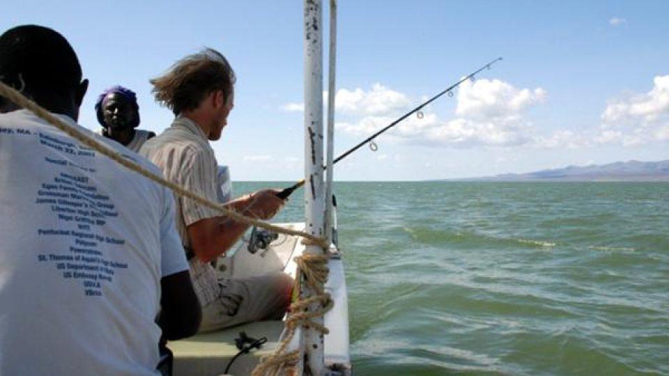 Vhodné místo pro rybaření
