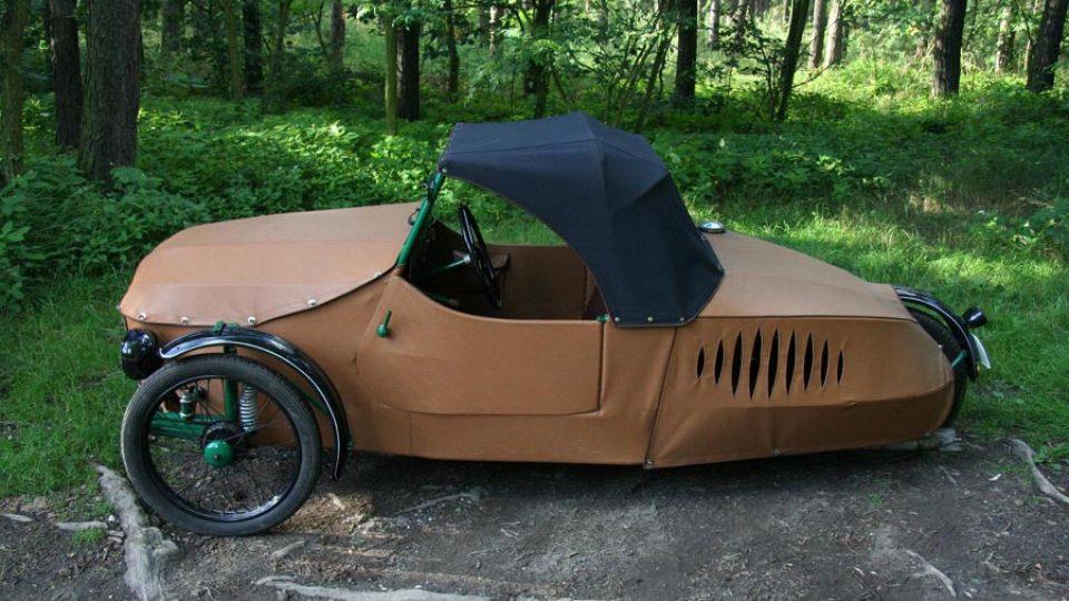 Oskar 250 – jízdní vlastnosti zhoršovala tříkolová koncepce