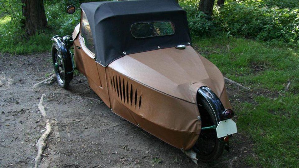 Oskar 250 – o pohon se stará motor Jawa 250 s výkonem 9 koní