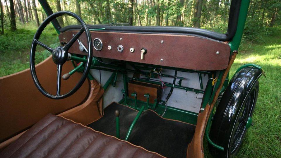 Oskar 250 měl čtyřstupňovou převodovku