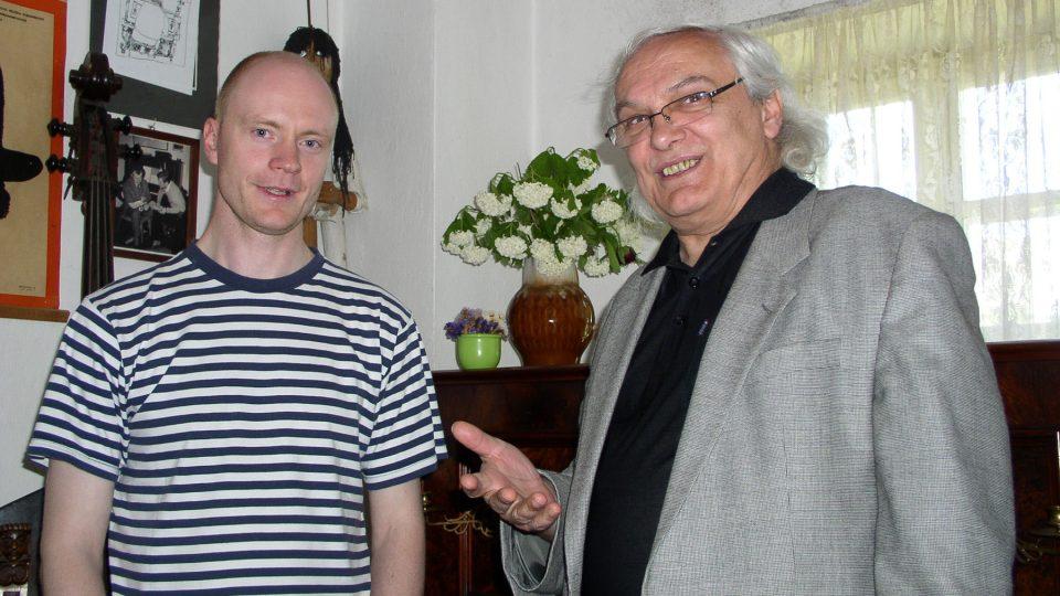 Jan Budař a Ondřej Suchý