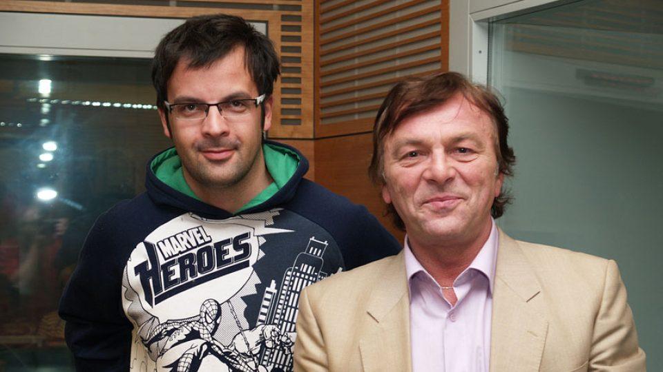 Pavel Trávníček a Tomáš Voženílek
