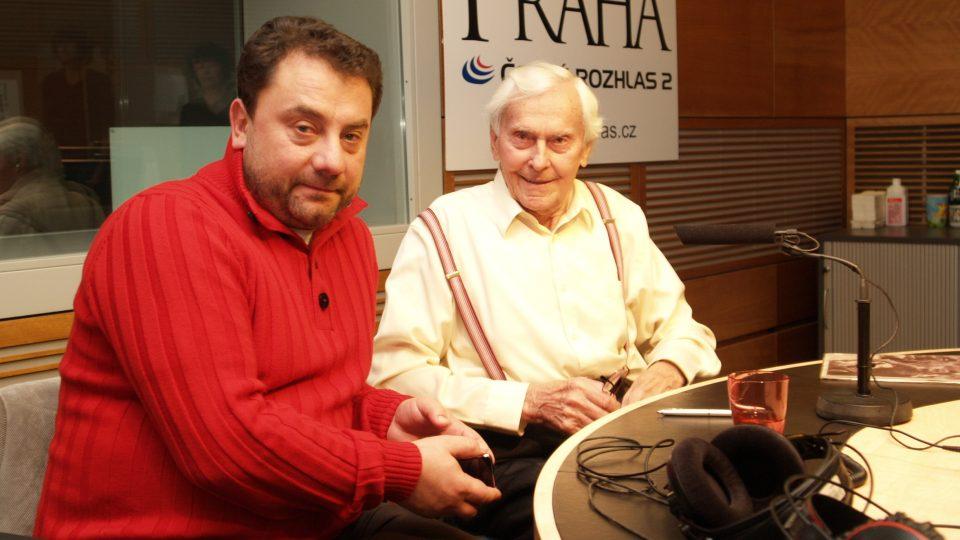 Miroslav Zikmund a Vladimír Kroc
