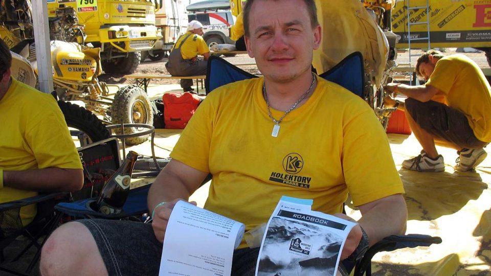 David Pabiška studuje roadbook