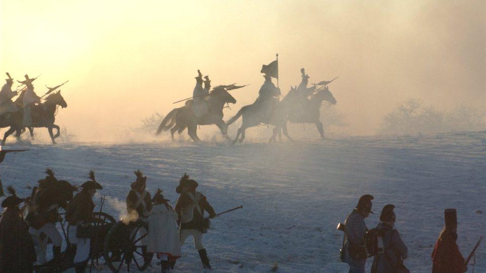 Bitva u Slavkova - útok jízdy