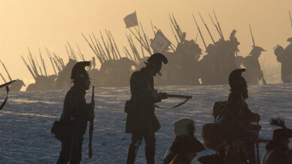 Bitva u Slavkova - postavení rakouské pěchoty