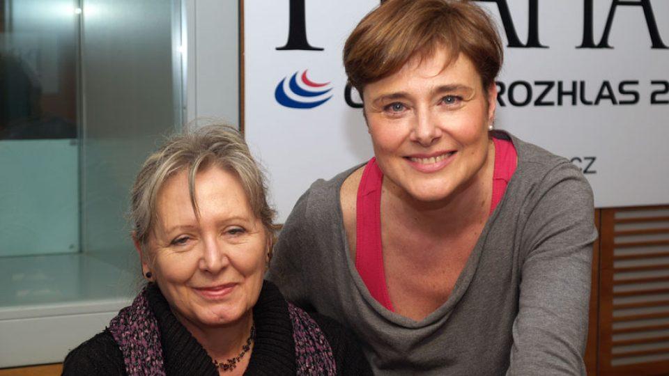 Helena Třeštíková a Marie Retková