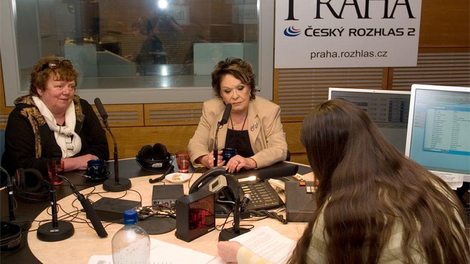 Slávka Kopecká a Jiřina Bohdalová