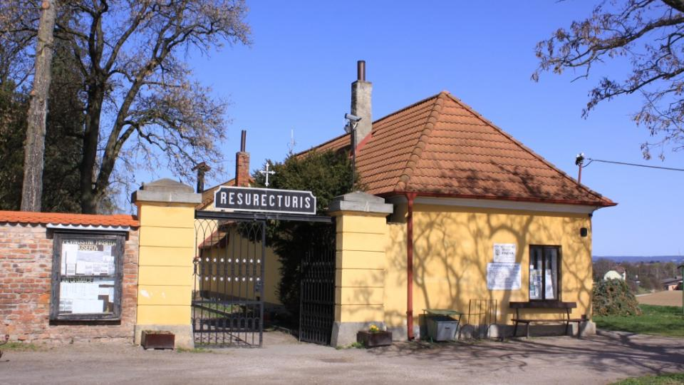 Vstup do pevnostního hřbitova