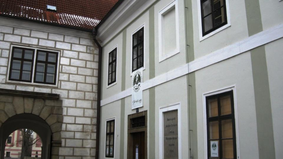 Třeboň - dům Jakuba Krčína z Jelčan