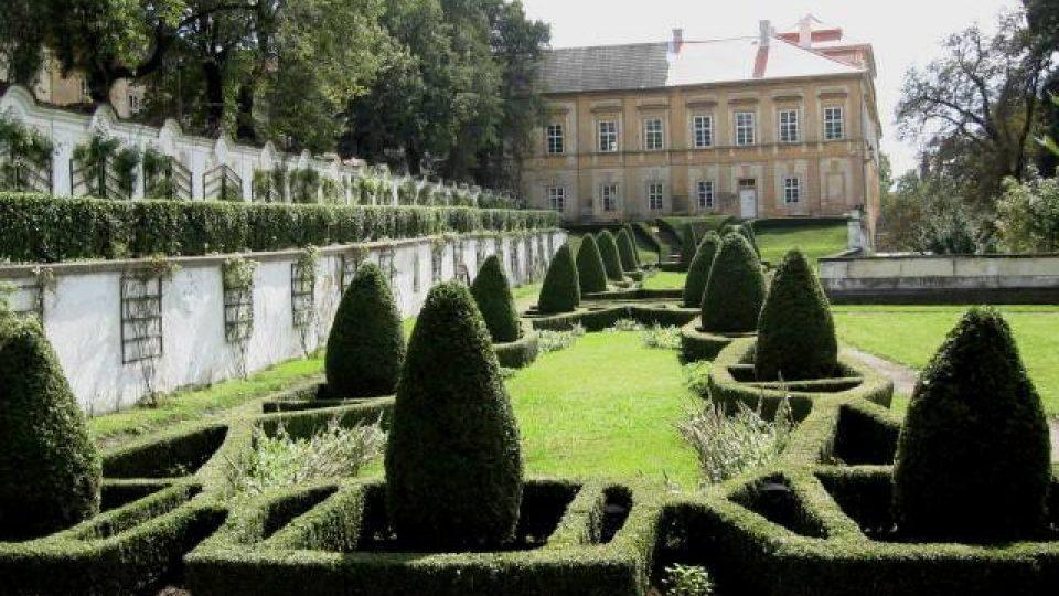 Duchcov - Knížecí zahrada duchcovského zámku
