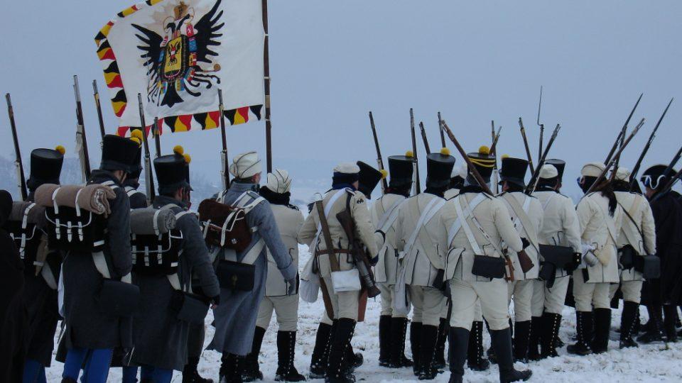 Rekonstrukce Bitvy tří císařů - Slavkov u Brna (200. výročí)