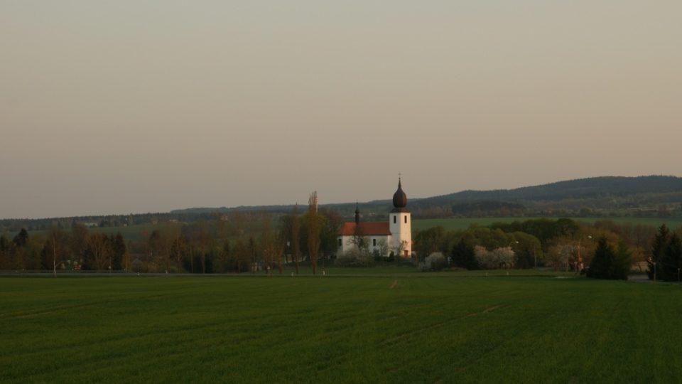 Kostel Povýšení sv. Kříže v Rožmitále pod Třemšínem