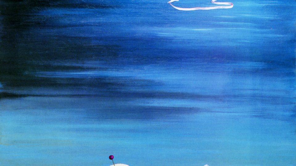 Toyen (1902–1980): Přeji vám mnoho zdraví!, 1943, olej, plátno, 87 x 66 cm (soukromá sbírka)