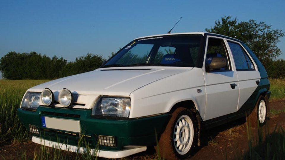 Škoda Favorit alá rallye