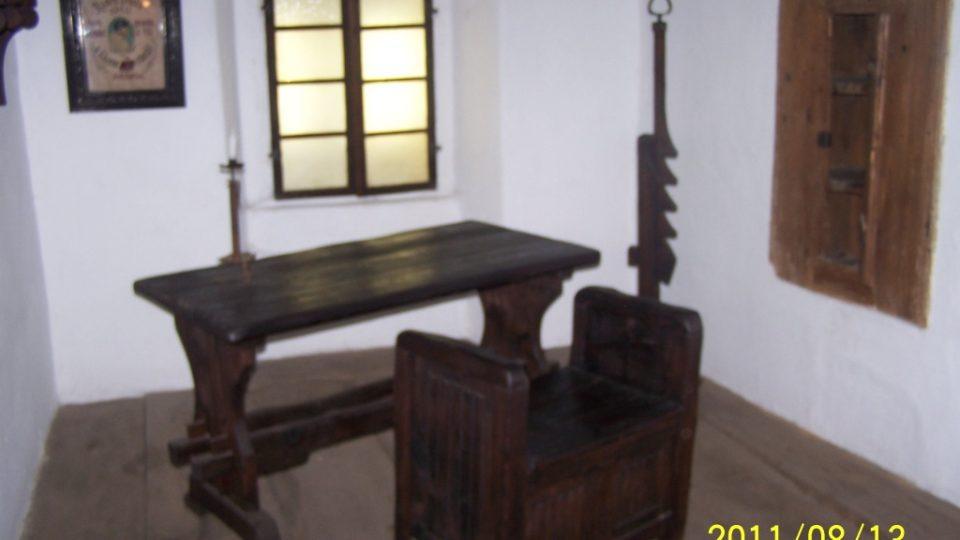 Husova světnička v rodném domě mistra Jana Husa v Husinci