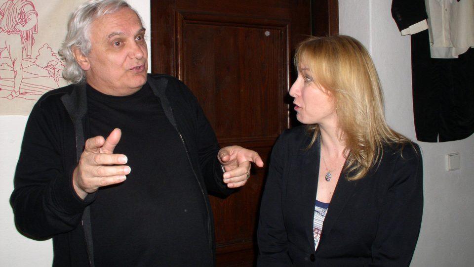 Ondřej Suchý s Kateřinou Žbirkovou