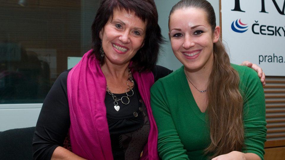 Zuzana Stirská a Eva Kvasničková