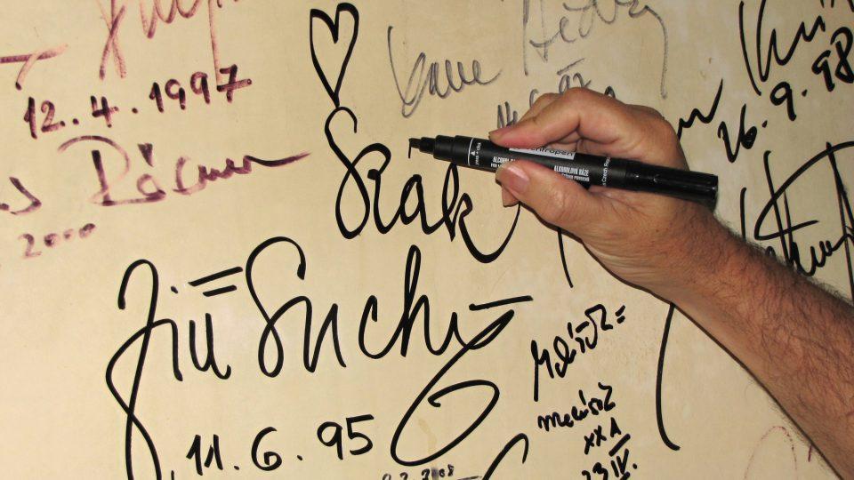 Muzikantův podpis