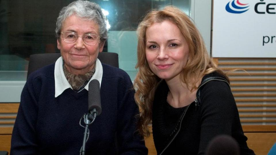 Helena Illnerová a Martina Kociánová