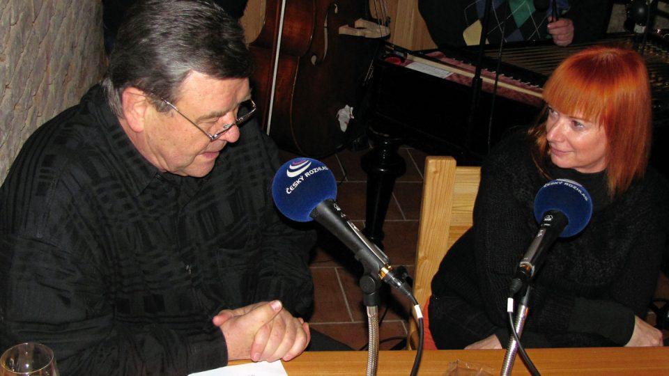 Václav Postránecký a Bára Štěpánová