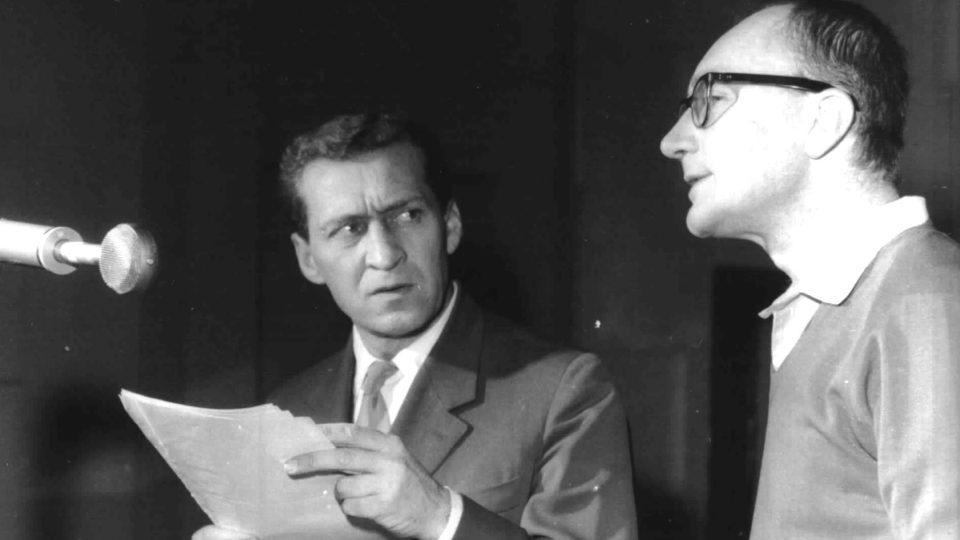 J.Adamíra-s J.Větrovcem-natáčení RichardaIII.