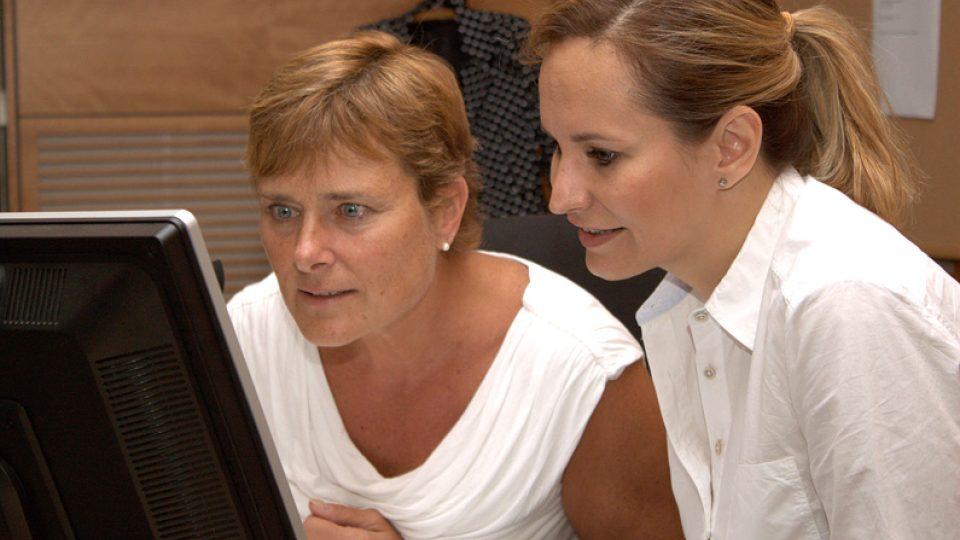 Marie Retková a Monika Absolonová