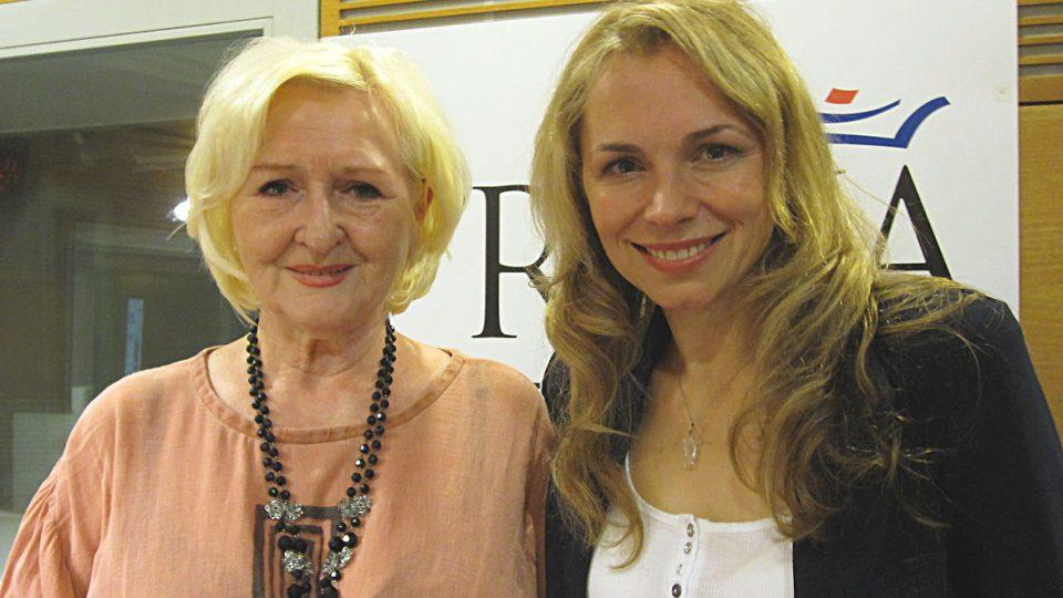 Dagmar Kludská a Martina Kociánová