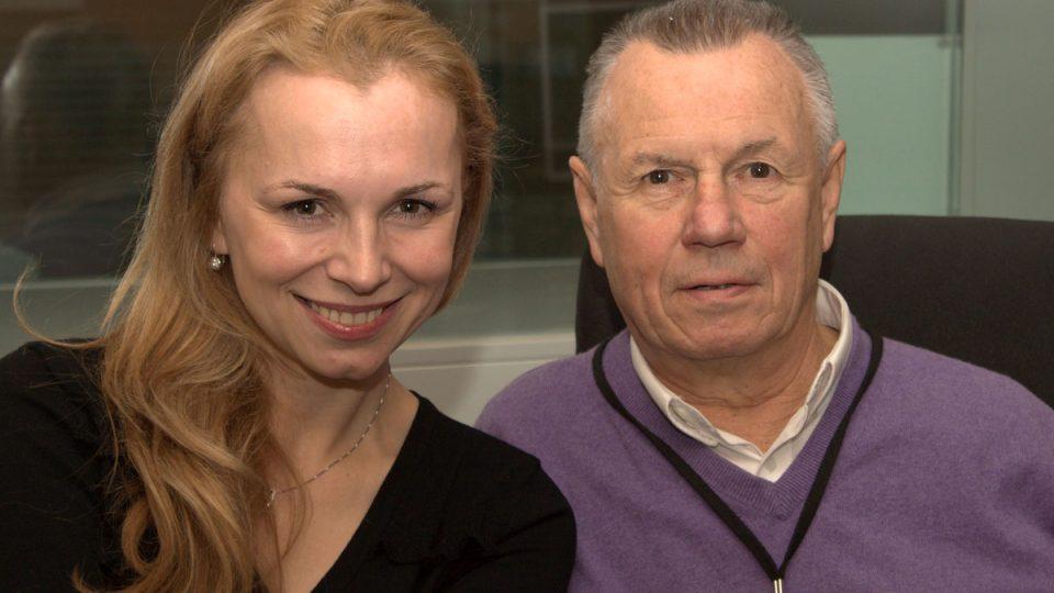 Martina Kociánová a Jiří Janoušek
