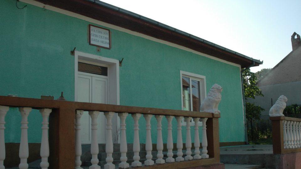 Kulturní dům ve Svaté Heleně v Banátu