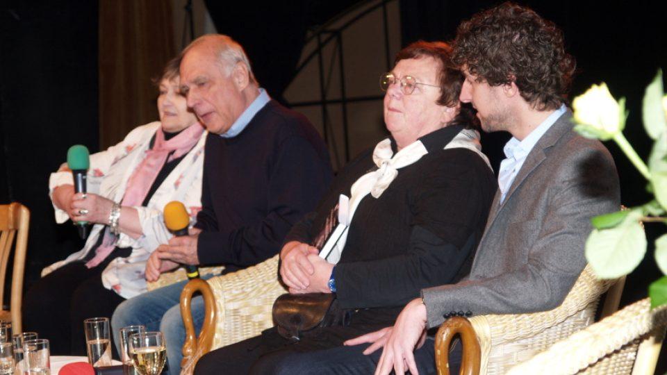 Ladislav Županič, Slávka Kopecká a Jan Herget