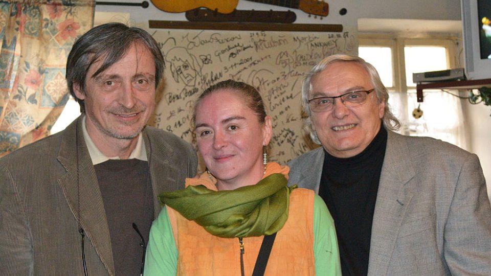 Martin Stropnický, Markéta Košťáková a Ondřej Suchý