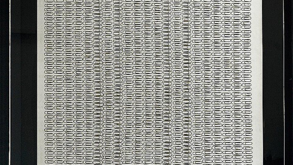 Běla Kolářová: Asambláž, 1969. Toto dílo zakoupila v roce 2008 Tate Gallery na londýnském Frieze Art Fair.