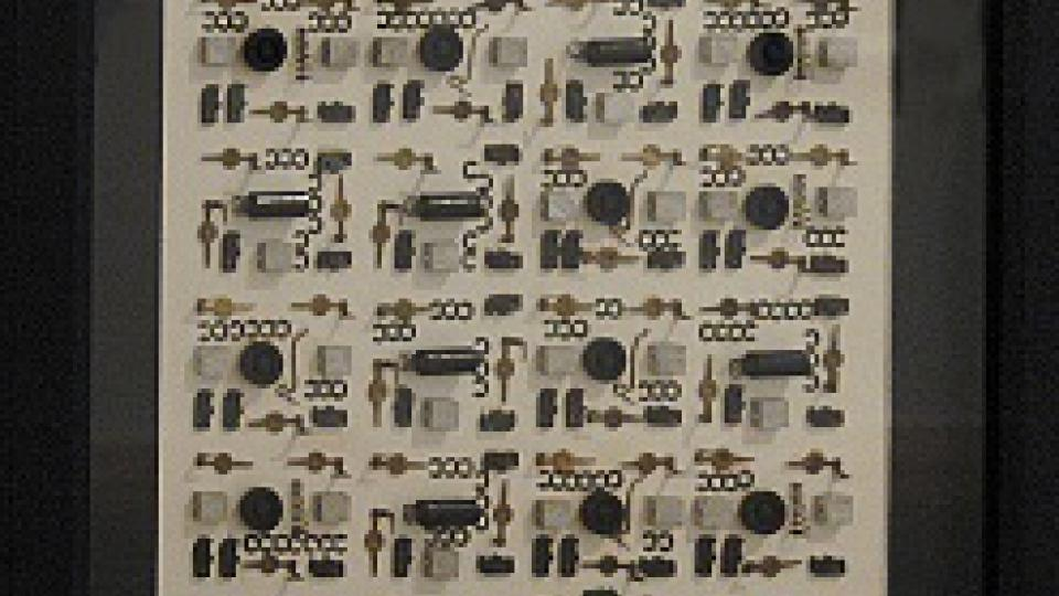 Běla Kolářová: Rozložený čas, 1967
