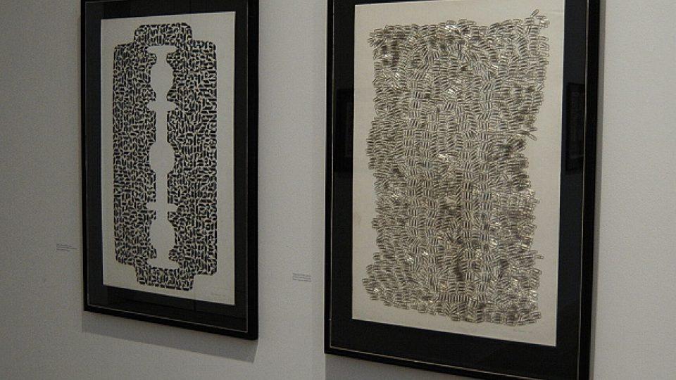 Běla Kolářová: vlevo Žiletka I (1969) a vpravo Kdybychom mohly vyprávět (1969)