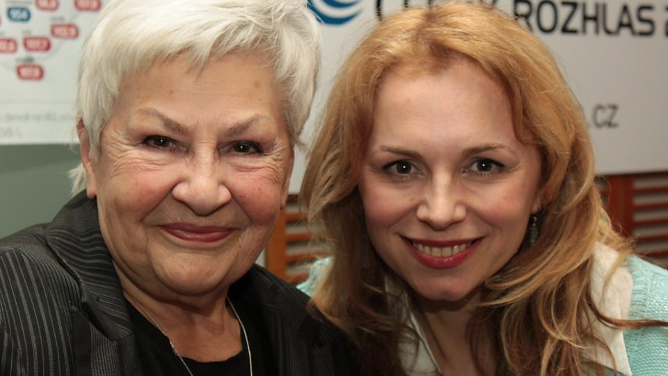 Kamila Moučková a Martina Kociánová