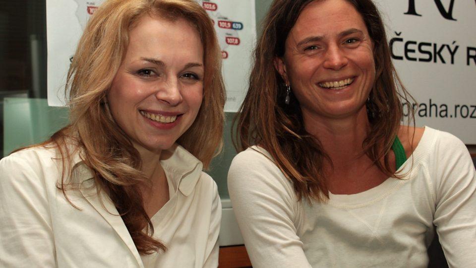 Martina Kociánová a Kristina Höschlova