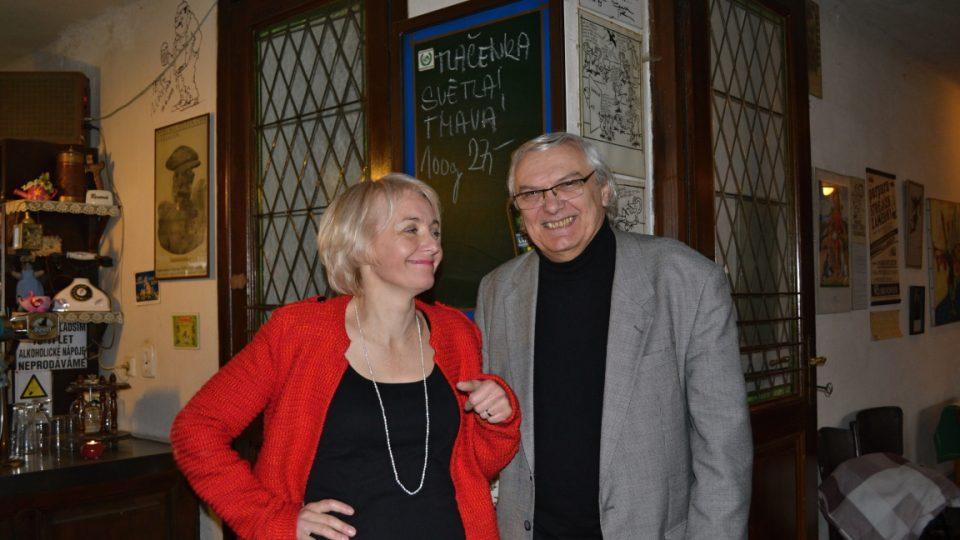 Veronika Žilková a Ondřej Suchý