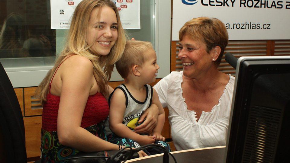 Lucie Plekancová Vondráčková, Matyáš Plekanec a Marie Retková