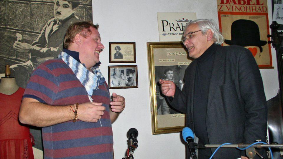 Václav Kopta a Ondřej Suchý