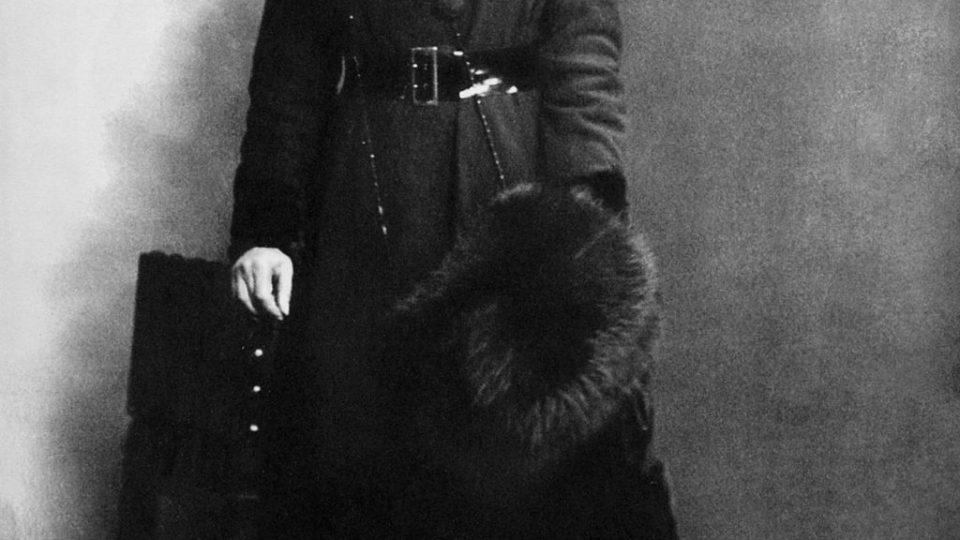 Mata Hari v den jejího zadržení (13. 2. 1917)