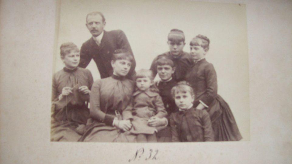 Rodina Chotků byla početná - Žofie měla bratra a pět sester
